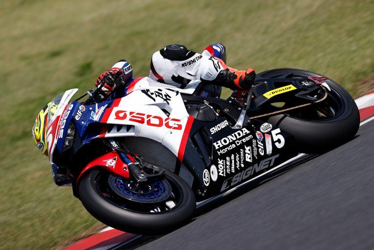 MotoGP | 榎戸育寛が2日間ともトップタイムを記録。厳しい暑さに見舞われた特別スポーツ走行/全日本ロード