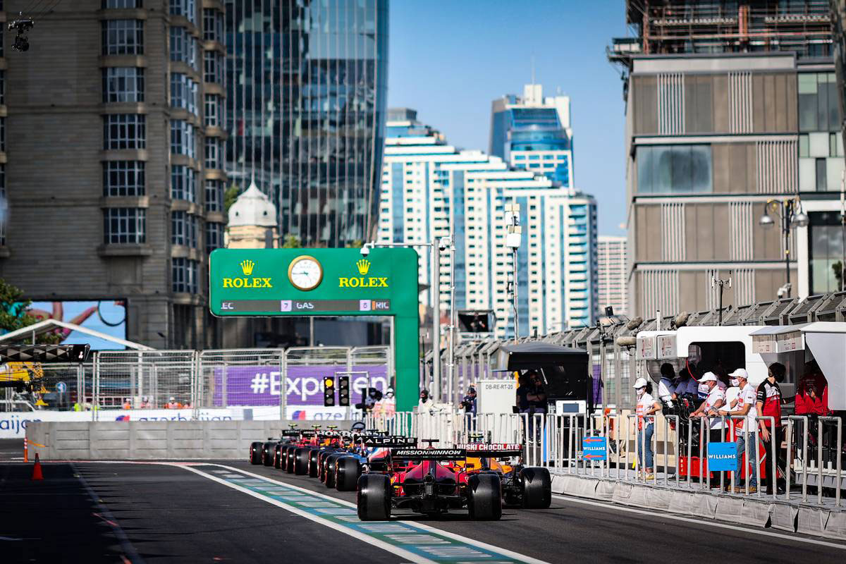 2021年F1第6戦アゼルバイジャンGP