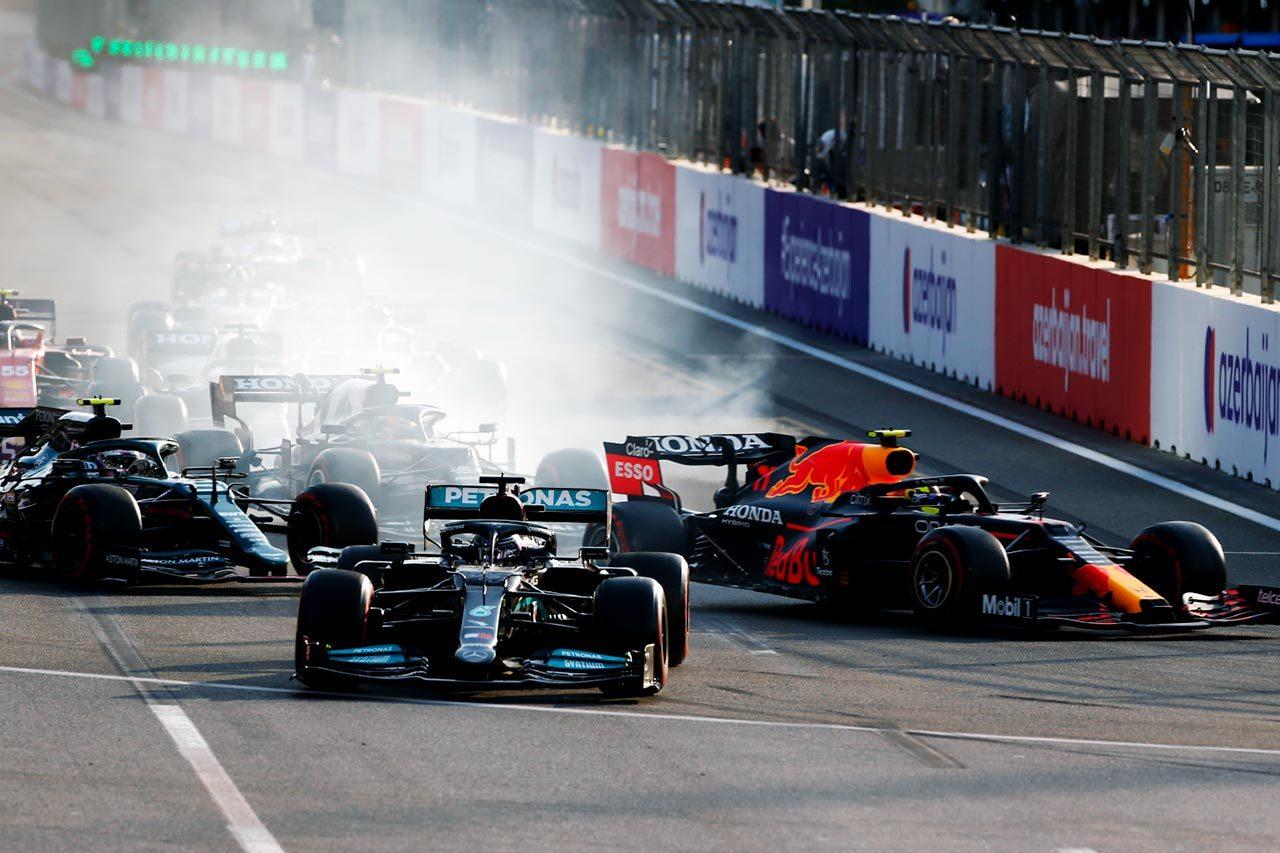 2021年F1第6戦アゼルバイジャンGP決勝 ルイス・ハミルトン(メルセデス)