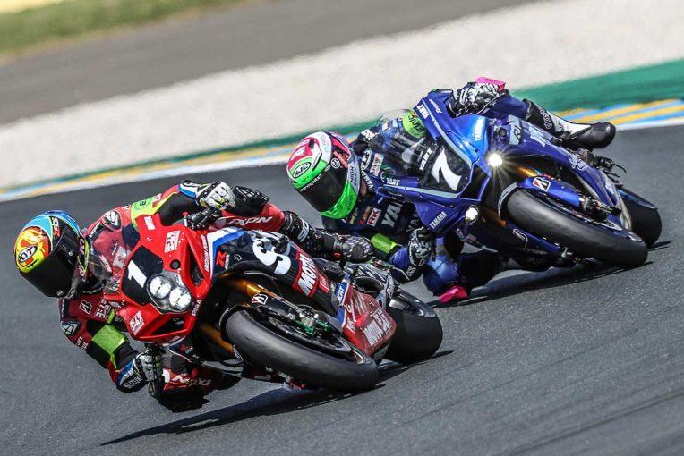 MotoGP | ヨシムラSERTがトップ、TSRホンダは4周差。一時2番手のYARTヤマハがリタイア/2021EWC第1戦ル・マン24時間 12時間経過後