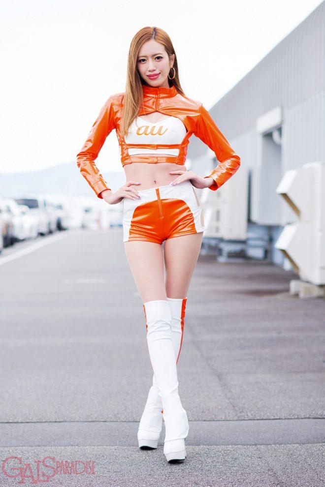 レースクイーン   央川かこ(au Circuit Queen)