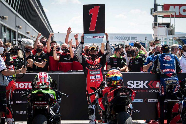 MotoGP | SBK第3戦エミリア・ロマーニャ:ドゥカティのリナルディが今季初優勝、2レースを制す。レイは未勝利に終わる