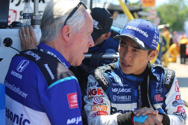 海外レース他   前日の勢いを維持できず12位で終えた佐藤琢磨「昨日ほどうまくはいかなかった」