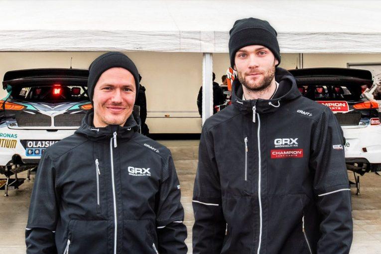 ラリー/WRC   ニクラス・グロンホルム、2021年も父マーカスが率いるGRXからWorldRXフル参戦を発表