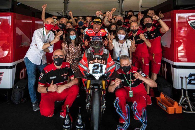 MotoGP   リナルディ「ホームグランプリで勝つことができて特別な気分」/SBK第3戦エミリア・ロマーニャ