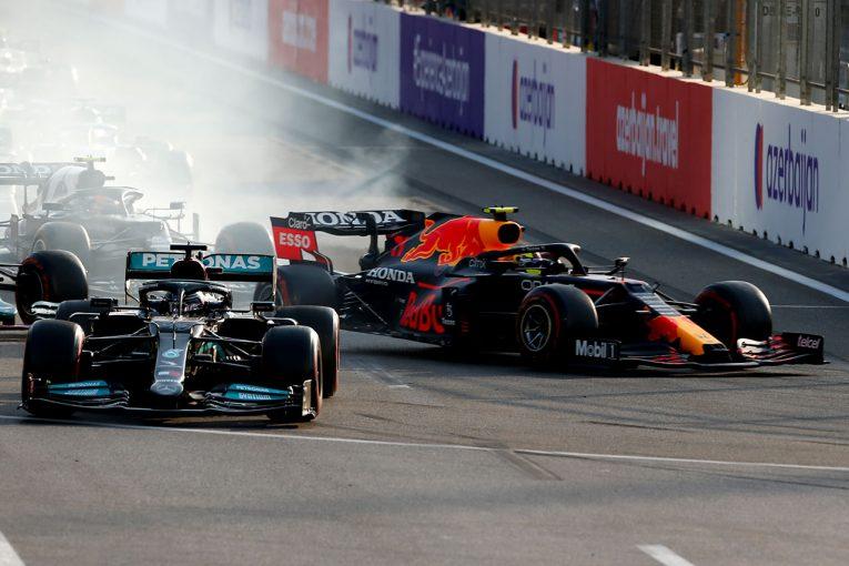 F1 | バクー無得点に終わった王者ハミルトン。レッドブル・ホンダの速さがブレーキマジック操作ミスを誘発か