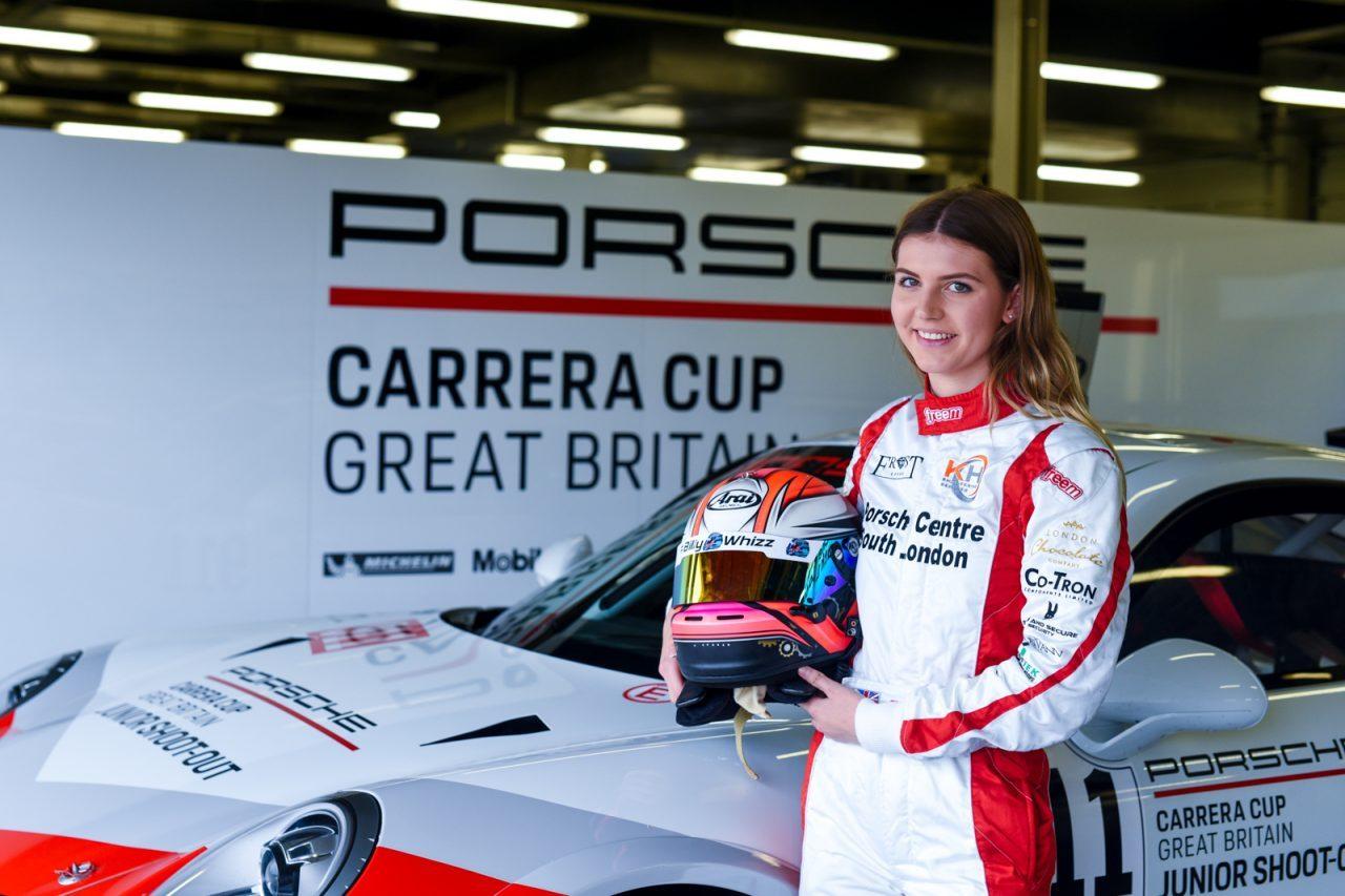 BTCCリザーブのエスミー・ホウキーがDTMデビュー。ランボルギーニ・ウラカンGT3をドライブへ