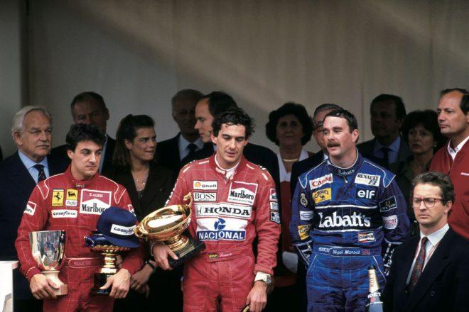 1991年モナコGP。セナとの間には互いにリスペクトがあった。