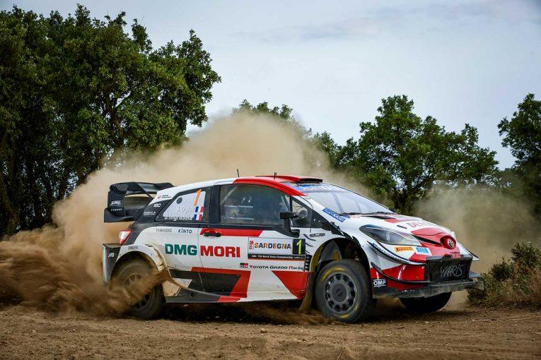 ラリー/WRC | トヨタWタイトルに追い風。鍵はテストでのセットアップ最適化とオジエのドライビング/WRCイタリア