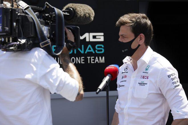 2021年F1第6戦アゼルバイジャンGP トト・ウォルフ(メルセデス代表)