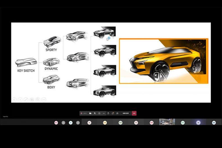 クルマ | ミツビシ、2021年もHALカーデザイン学科との産学共同プロジェクトを実施