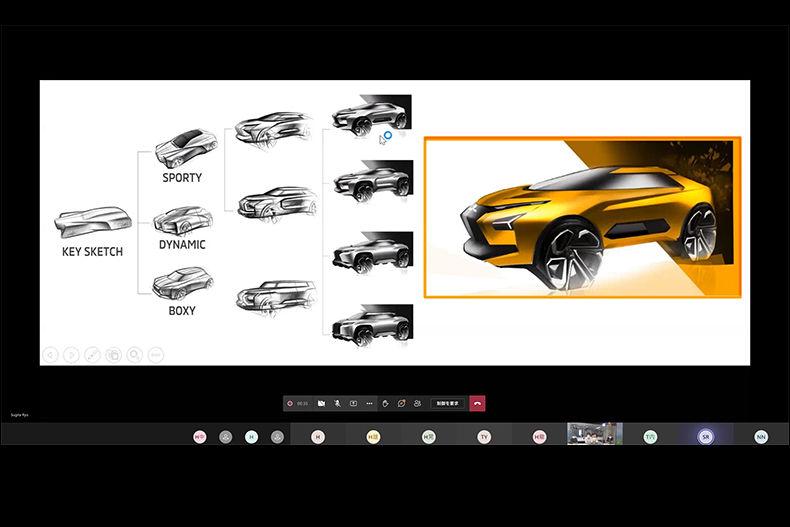 ミツビシ、2021年もHALカーデザイン学科との産学共同プロジェクトを実施