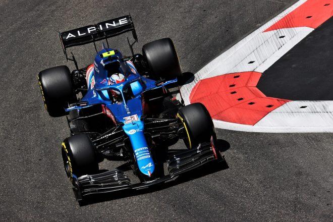 2021年F1第6戦アゼルバイジャンGP エステバン・オコン(アルピーヌ)