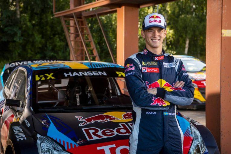 ラリー/WRC | 元WorldRX王者ティミー・ハンセンが2021年フル参戦を発表「血筋と家系には抗えない」