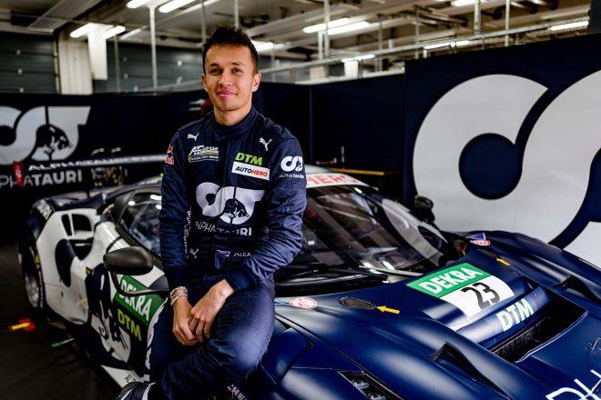 アルファタウリ・AFコルセのフェラーリ488 GT3 EvoでDTMデビューを飾るアレックス・アルボン