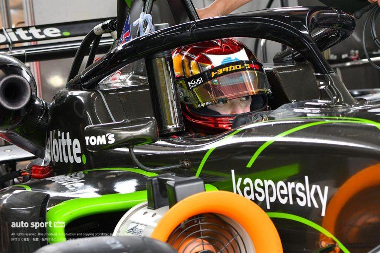 スーパーフォーミュラ   スーパーフォーミュラ・ライツの木曜午前走行に5名のトップドライバーが参加。それぞれに意図あり