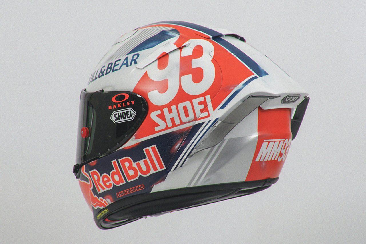 マルク・マルケス、70~80年代のレトロ風スペシャルヘルメットを使用/MotoGP第8戦ドイツGP