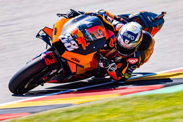 MotoGP   MotoGP第8戦ドイツGP:前戦ウイナーのKTMオリベイラが初日総合トップ。中上貴晶は総合6番手で終える