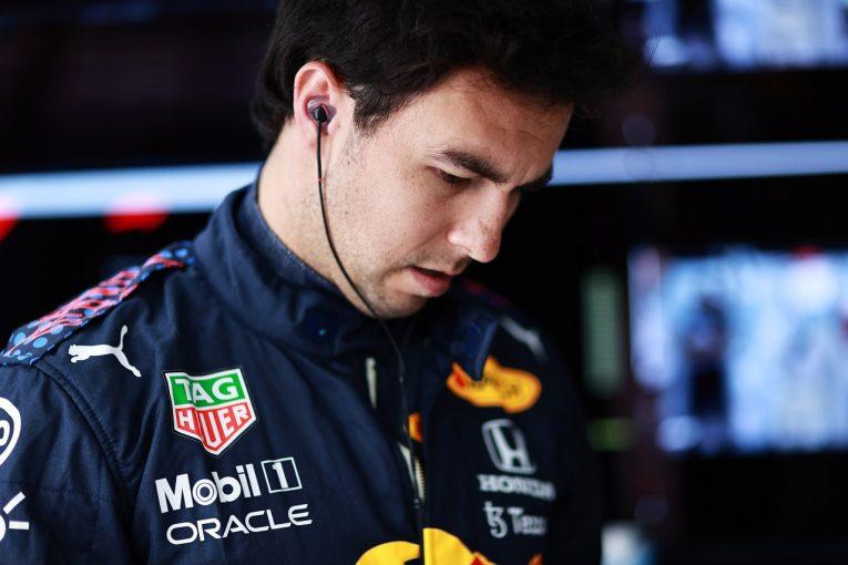 F1 | ペレス12番手「渋滞で本来のタイムを出せず。セットアップ再調整の必要も」レッドブル・ホンダ/F1第7戦金曜