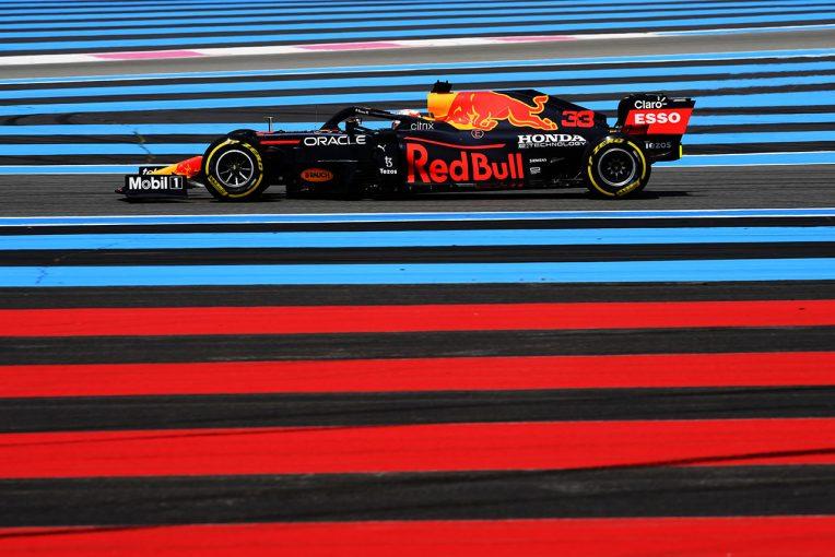 """F1   レッドブル・ホンダ密着:""""計画的なやりくり""""で新PUコンポーネント投入。問題なく機能し初日をトップで終える"""