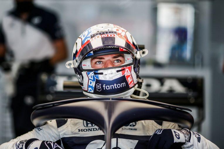 F1   ガスリー初日7番手「前戦ほど好調ではないが、母国ファンのため予選トップ10を狙う」アルファタウリ・ホンダ/F1第7戦
