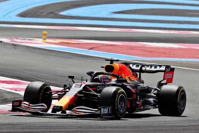 2021年F1第7戦フランスGP マックス・フェルスタッペン(レッドブル・ホンダ)