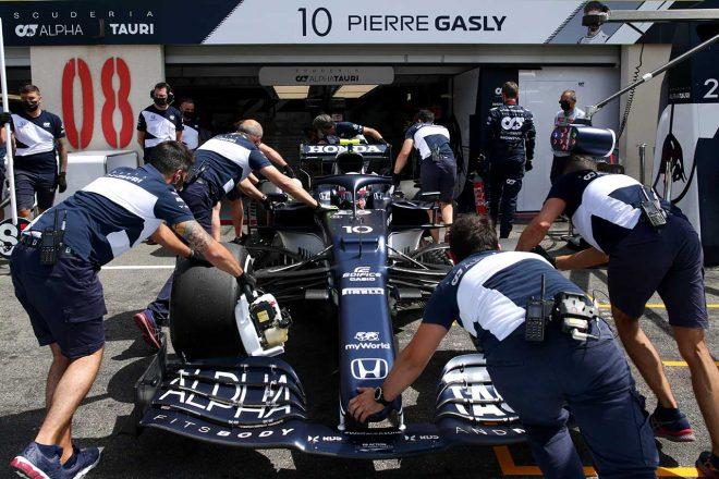 2021年F1第7戦フランスGP ピエール・ガスリー(アルファタウリ・ホンダ)