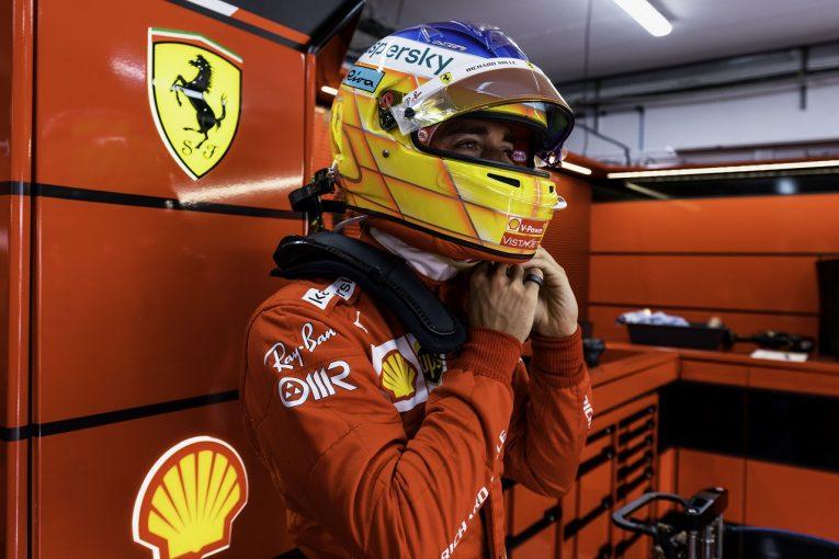 F1   ルクレール「前回と違ってうれしい驚きはないが、いい結果を出せる可能性はある」フェラーリ/F1第7戦金曜