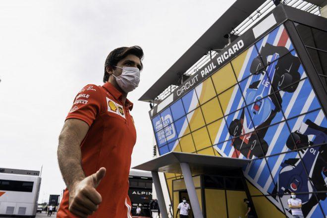 2021年F1第7戦フランスGP カルロス・サインツJr.(フェラーリ)