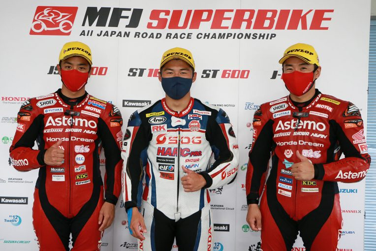 MotoGP | 榎戸育寛「前半に攻めた。終盤はバイクと自分がマッチしなくてミスをしたが初優勝は嬉しい」/全日本ロード第4戦筑波 ST1000 レース1会見