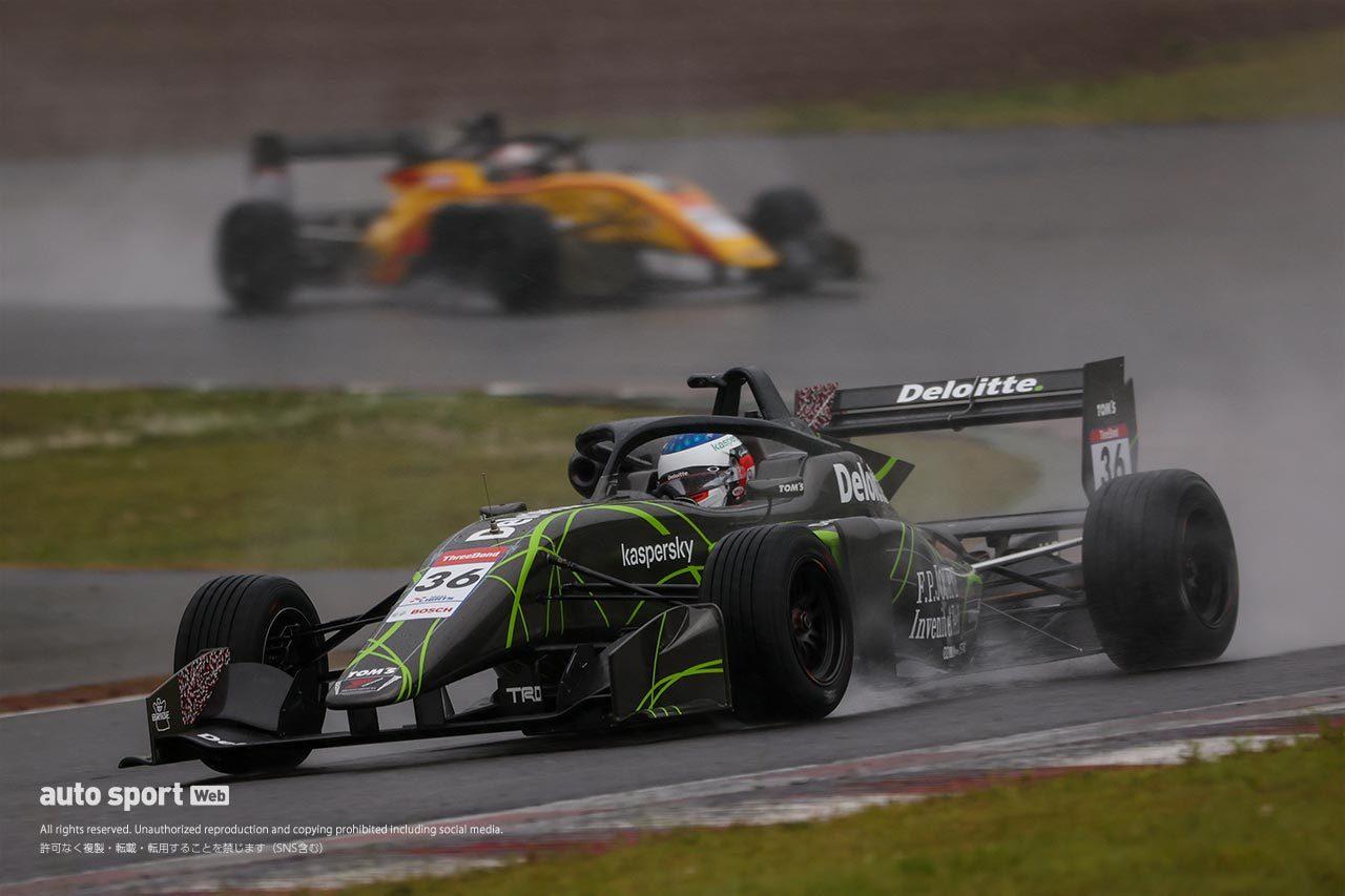 荒天のレースを制しジュリアーノ・アレジがポール・トゥ・ウインでSFL初優勝を飾る