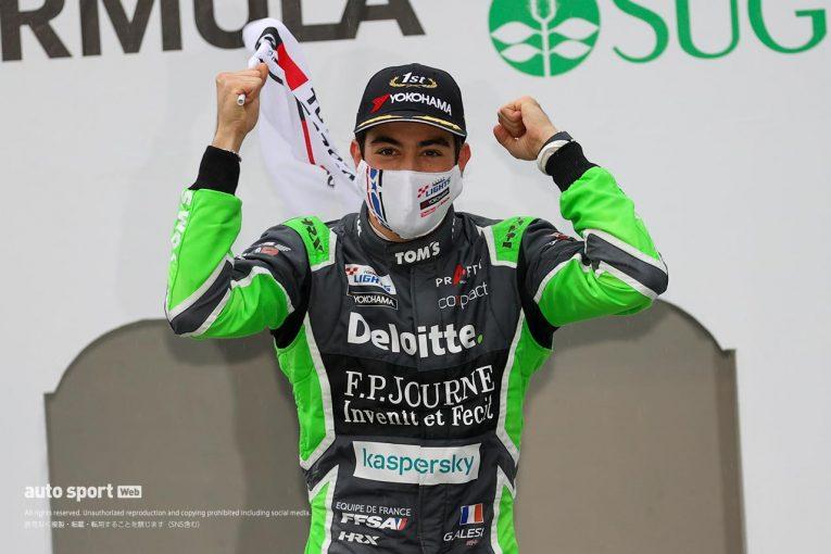 国内レース他   荒天のレースを制しジュリアーノ・アレジがポール・トゥ・ウインでSFL初優勝を飾る