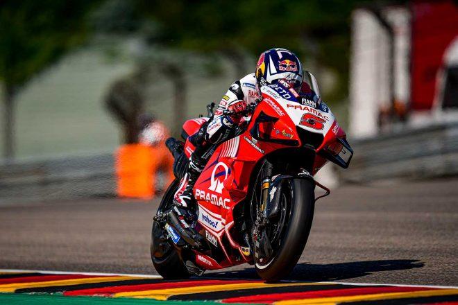 MotoGP   MotoGP第8戦ドイツGP:ドゥカティのザルコが今季初のポール獲得。マルク・マルケスは5番グリッドに並ぶ