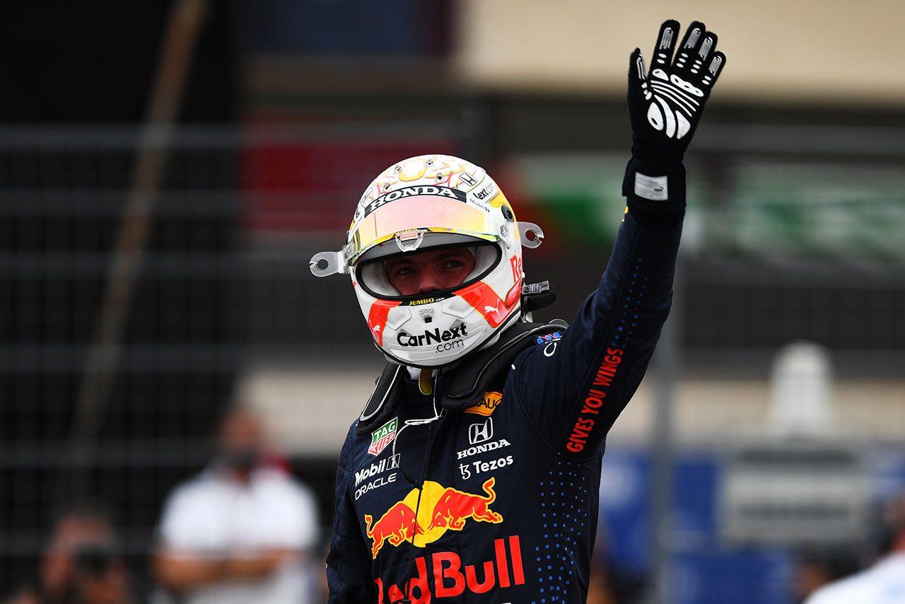 F1   レッドブル・ホンダのフェルスタッペンが開幕戦以来のポール獲得。角田はQ1でクラッシュ【予選レポート/F1第7戦】
