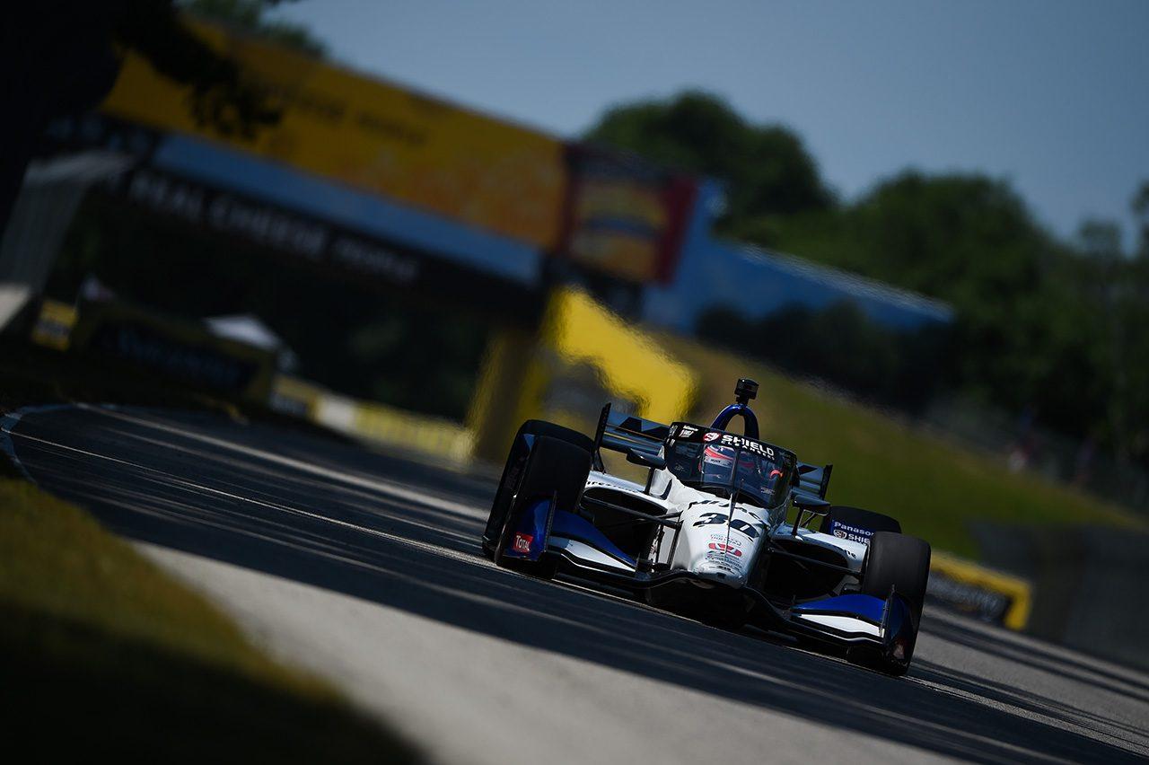 ロードコースで苦戦の琢磨は20番手【順位結果】インディカー第9戦ロード・アメリカ予選総合