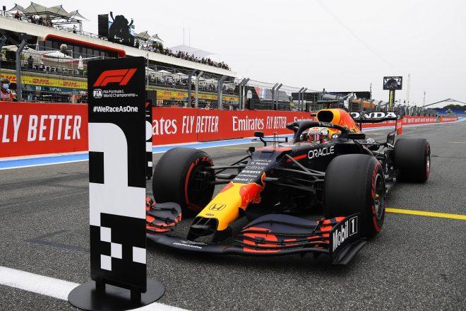 2021年F1第7戦フランスGP マックス・フェルスタッペン(レッドブル・ホンダ)がポールポジションを獲得