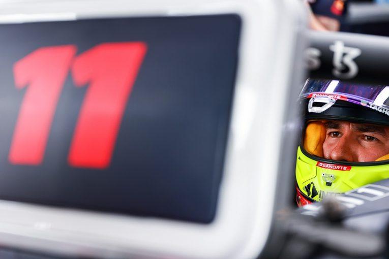 F1   ペレス4番手「フロントロウを狙っていたがミスをした。決勝で挽回する」レッドブル・ホンダ/F1第7戦予選