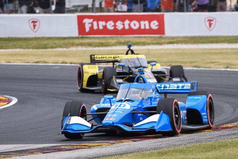 海外レース他 | パロウが残り2周の逆転勝利。再びポイントリーダーに【順位結果】インディカー第9戦ロード・アメリカ決勝レース