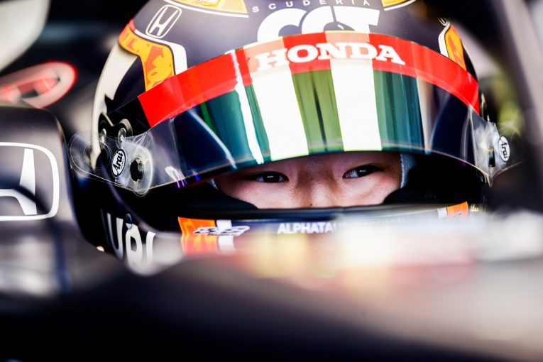 F1   角田裕毅、ピットスタートから13位「経験値が向上。入賞を狙えるよう予選改善に取り組んでいく」F1第7戦
