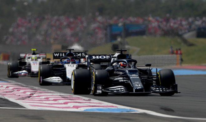 2021年F1第7戦フランスGP 角田裕毅(アルファタウリ・ホンダ)