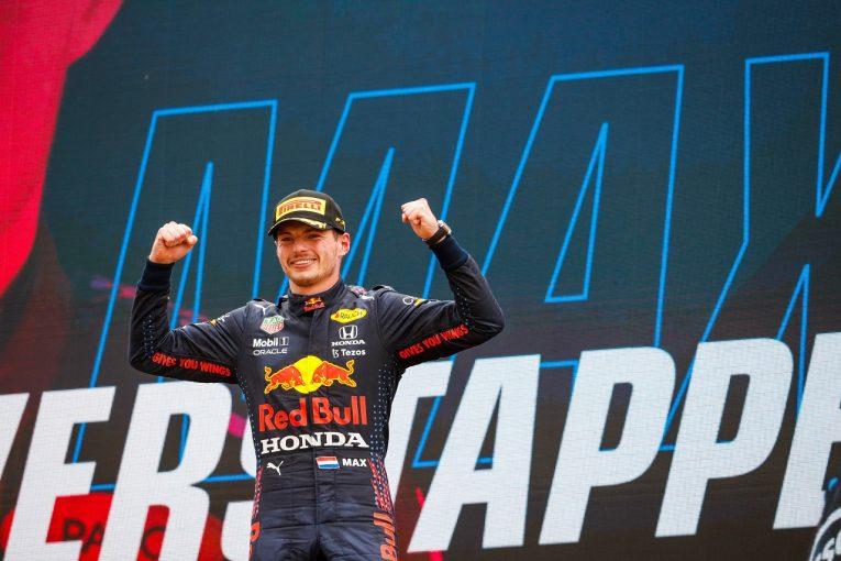 F1   フェルスタッペンが今季3勝目「一度失った首位を戦略で奪還。あれほどうまくいくとは思わなかった」/F1第7戦