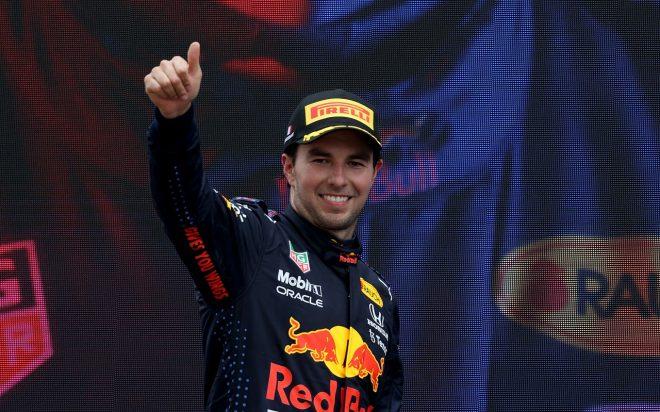 2021年F1第7戦フランスGP セルジオ・ペレス(レッドブル・ホンダ)が3位を獲得