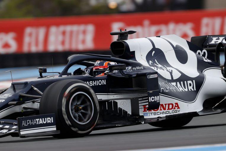 F1   【角田裕毅F1第7戦密着】クラッシュの影響により旧型フロアを使用も、13位完走で経験を積んだフランスGP