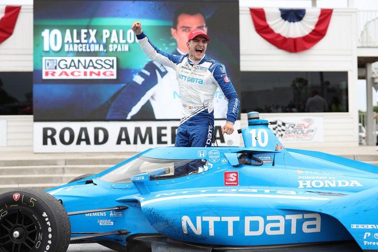 海外レース他   インディカー第9戦ロード・アメリカ:パロウが残り2周の逆転劇で今季2勝目。ペンスキーは再びトラブルに泣く