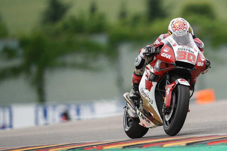 MotoGP   中上貴晶「13位には満足できませんが、気持ちを切り替えて次に集中したい」/MotoGP第8戦ドイツGP決勝