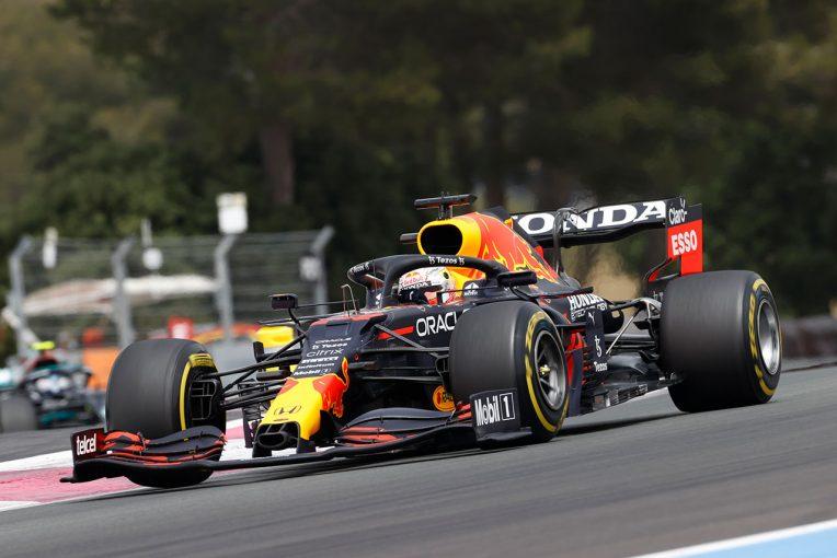 F1   レッドブル・ホンダ密着:終盤にコンディションが改善し、2ストップを決断。速いマシンだからこそ可能だった逆転劇