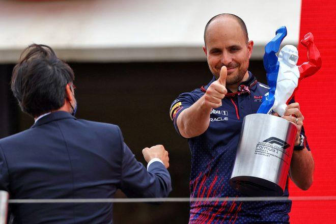 2021年F1第7戦フランスGP ジャンピエロ・ランビアーゼ(レッドブル・ホンダ マックス・フェルスタッペン担当エンジニア)