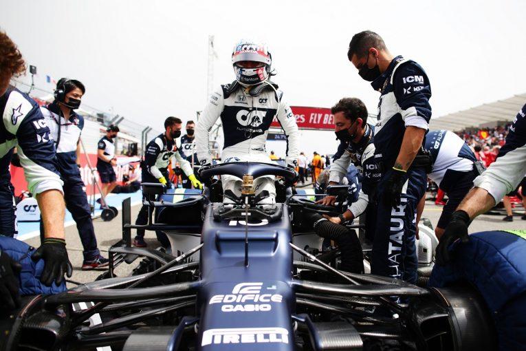 F1   ガスリー6戦連続入賞「4番目の速さを持ったマシンだったことを喜びたい」アルファタウリ・ホンダ/F1第7戦