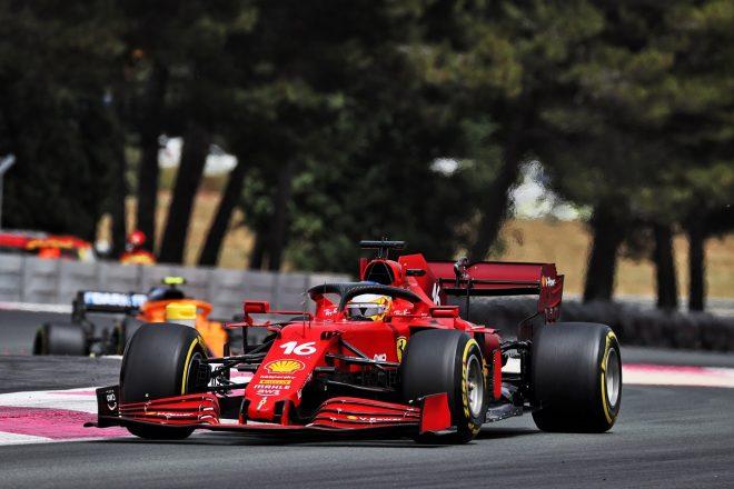 2021年F1第7戦フランスGP シャルル・ルクレール(フェラーリ)