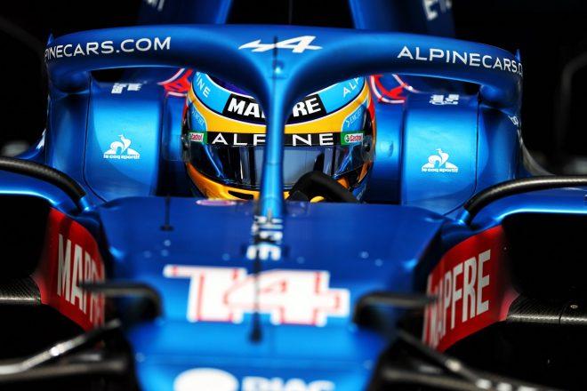 2021年F1第7戦フランスGP フェルナンド・アロンソ(アルピーヌ)